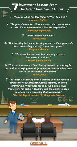 7 investment lessons info