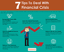 7 Tips To Deal With Financial Crisis