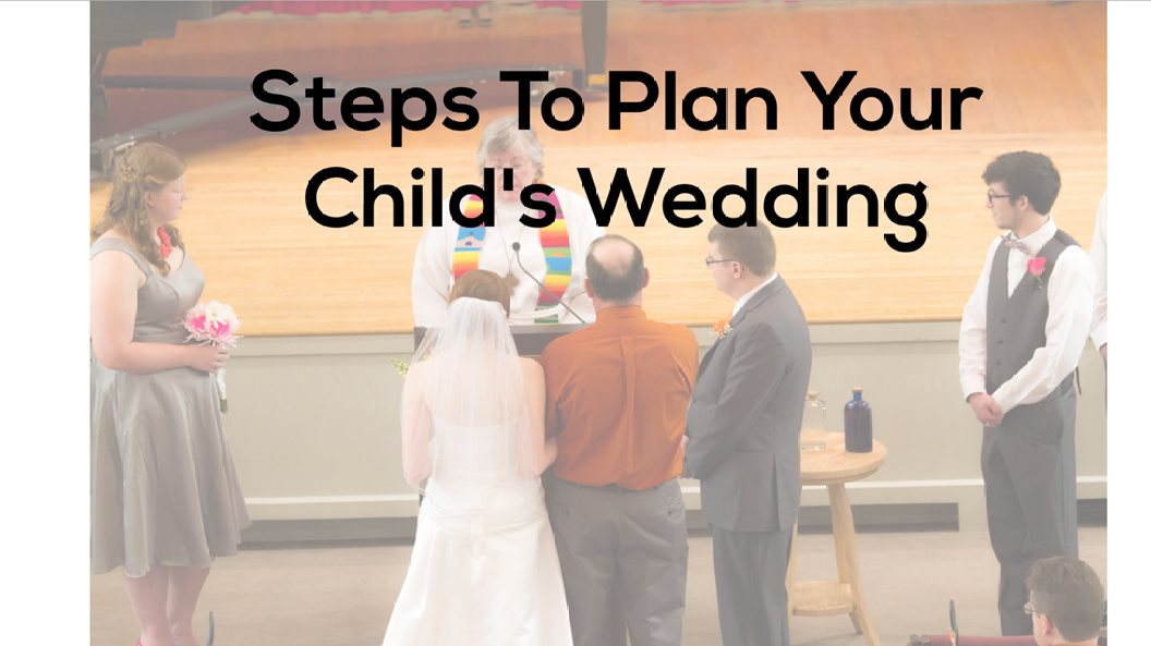 plan your child wedding